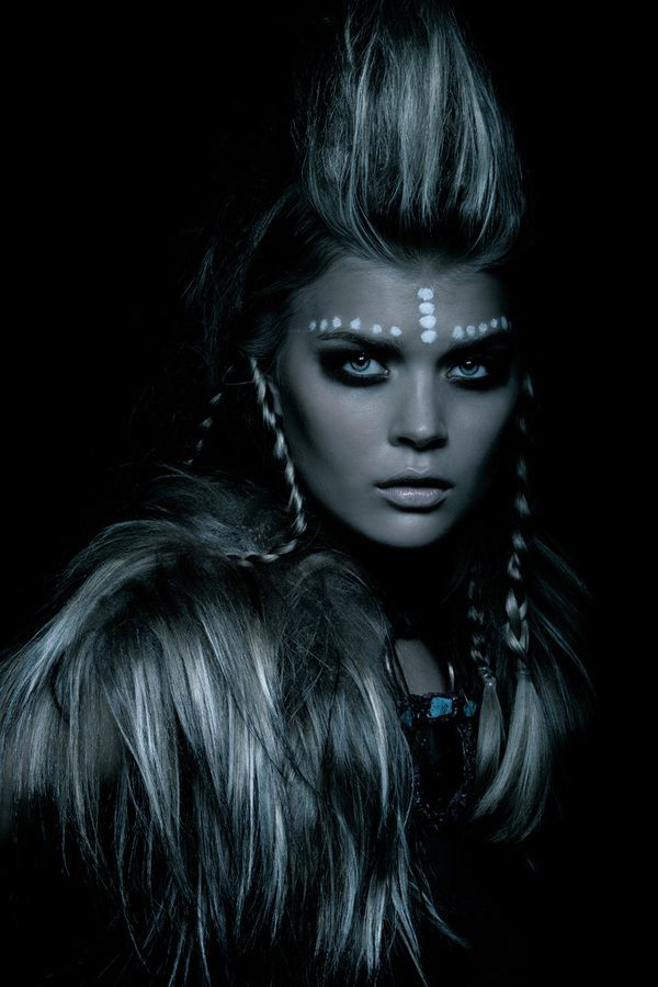 """The Last Warrior""  Photographer: TOMAAS www.tomaas.com    Photographer Assistant: Kosuke Furukawa    Stylist: CarlaEngler, Represented by Bryan Bantry Inc.    Make Up Artist: Fiona Thatcher For MAKE UP FOR EVER    Hair Stylist: Seiji Uehara, Represented By Ennis, Inc    Post Production: ElenaLevenets"