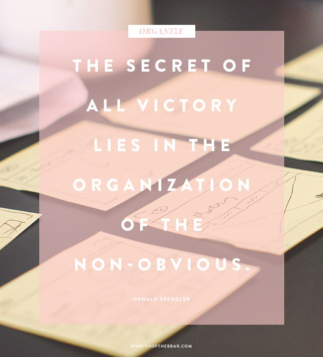 """""""The secret of all victory lies in the organization of the non-obvious"""" - Oswald Spengler"""