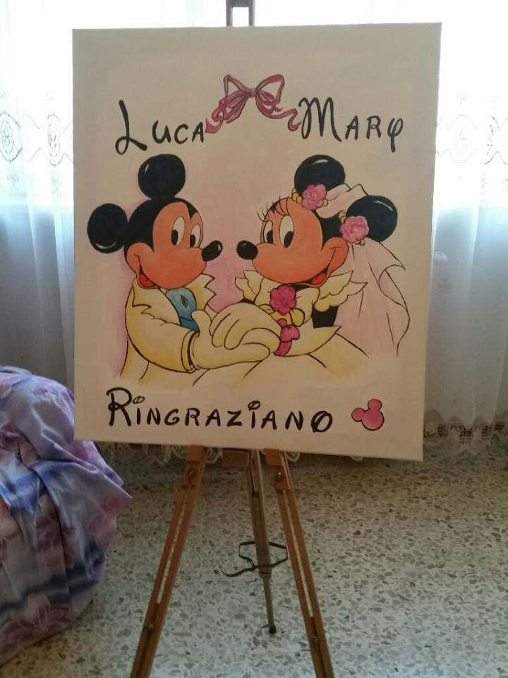 Matrimonio a tema disney: minnie & topolino! 11