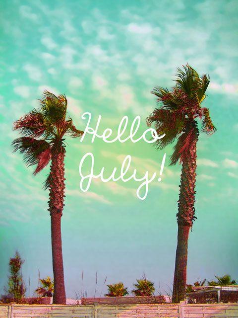 Hello July - happy summer - ©www.image-gratuite.com