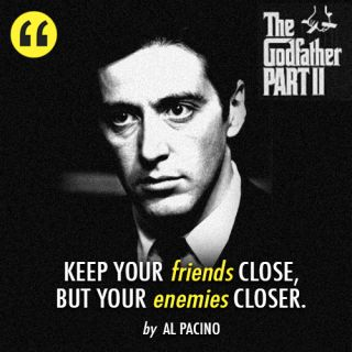 The Godfather Quotes | how can you forget the Godfather movie quotes !!
