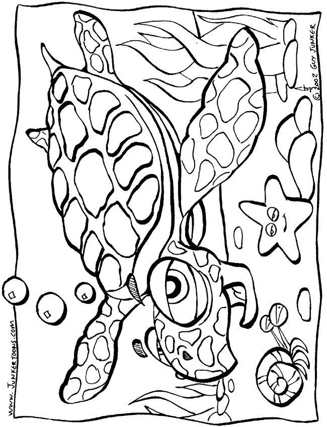 animal adventure coloring pages - photo#27