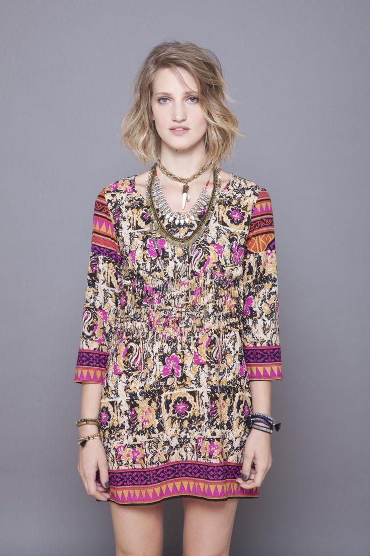 Vestido Alena Sari