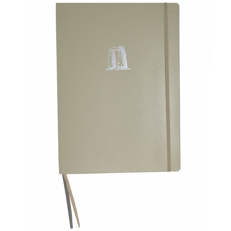 Write notes, lists and ideas in this Stonehenge Embossed Notebook. The A5 book is filled with high quality ruled paper with a date section on each page, so this could alternatively be used as a daily diary. The Stonehenge Trilithon stones are embossed in metallic silver on the front of the book, giving it a very special touch. As the book is hard backed, it makes the perfect item to take with you on a daily basis. This book would also make a lovely gift for someone who loves the history of…