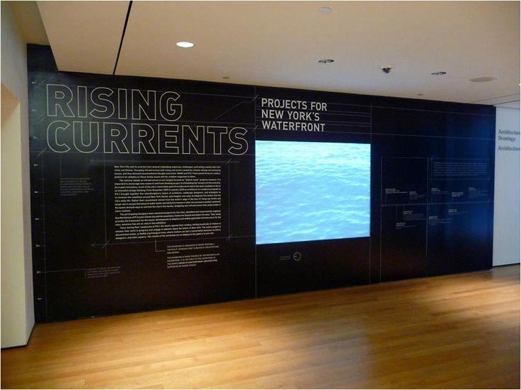 MoMa exhibit on rising sea level in New York