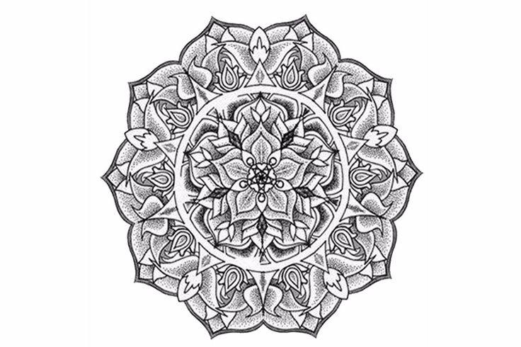 Mandala Temporary Tattoo Norq