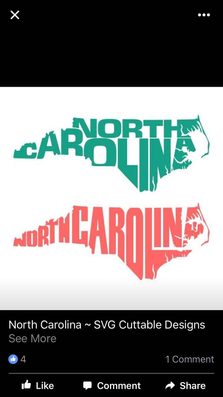 17 Best Images About Cricut North Carolina On Pinterest