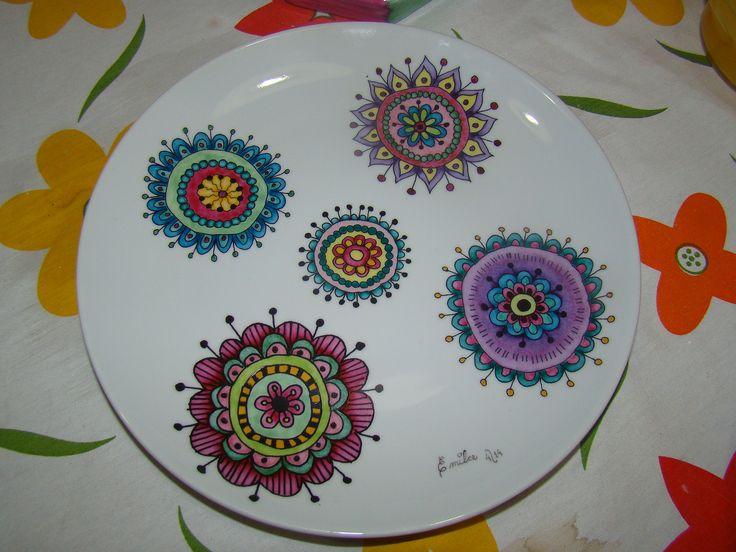 Pintura Sobre Porcelana Dibujos Para Porcelana