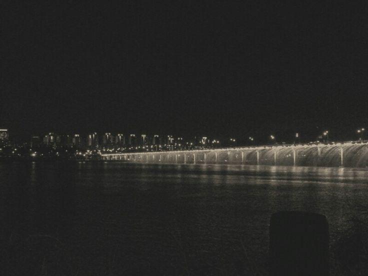 9월 15일 한강 산책 분수