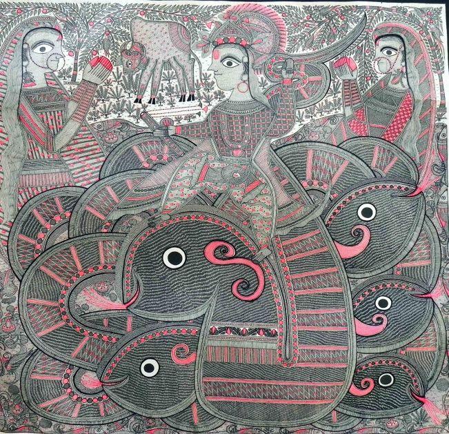 BY CHANDRA BHUSAN KUMAR ( National award winning artist)