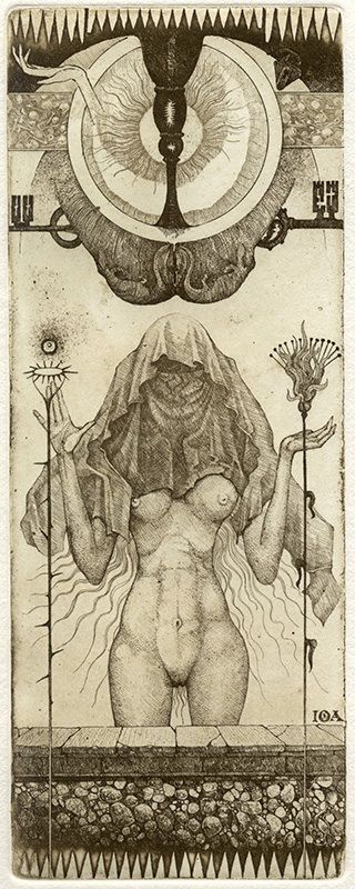 In the world of tarot, the cards can be works of art unto themselves. One rare and stunning deck is the IONA Tarot, designed and printed by artist Giona Fiochi,