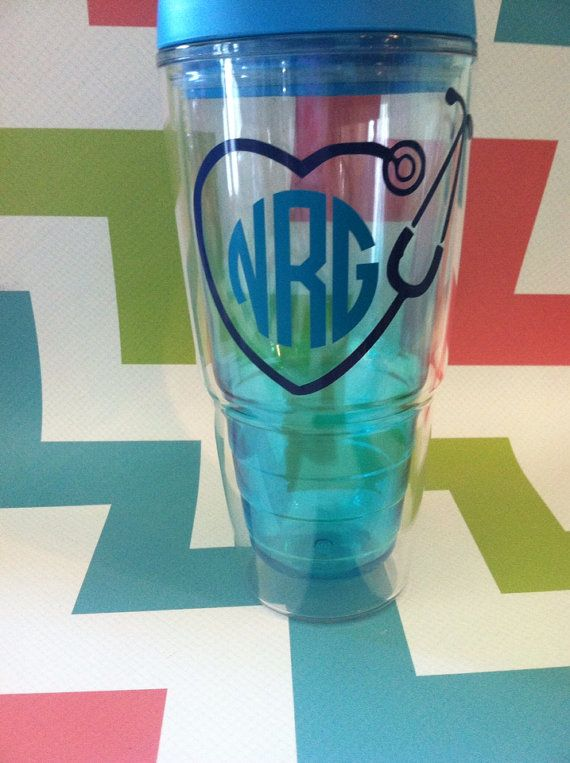 This 24 oz tumbler is perfect for those in the medical profession. Tumbler options used to be ombre, but they were so popular we sold out in about a