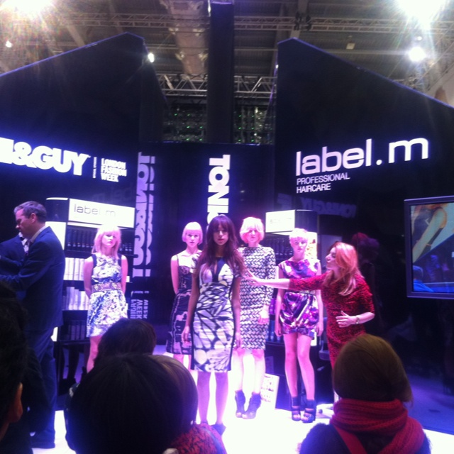 Toni & Guy show at Salon International 2013