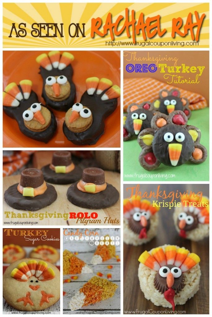 20 Easy and Fun Kids Thanksgiving Food Crafts. Round-Up on Frugal Coupon Living and other fun sites!