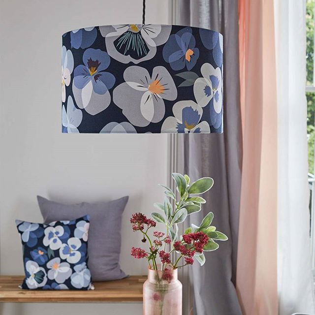 To Celebrate The Pansy Lampshade Being Featured In @housebeautiful This  Monthu2026