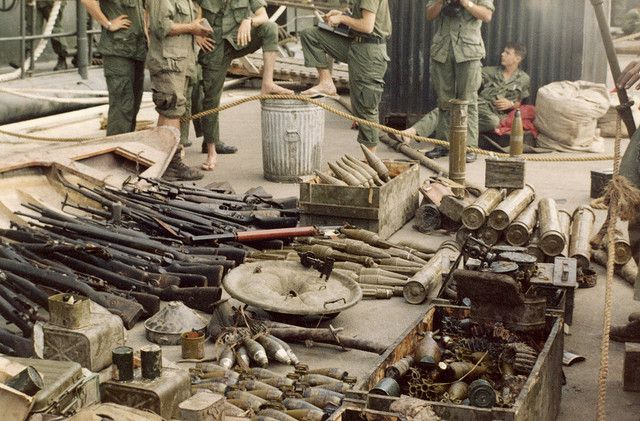 Viet Cong Weapons in Vietnam | Recent Photos The Commons Getty Collection Galleries World Map App ...