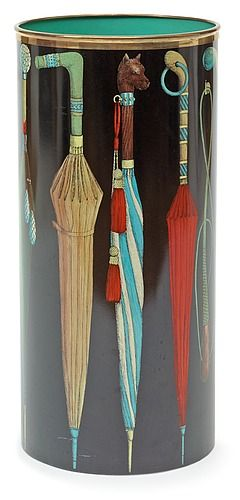 A Piero Fornasetti umbrella stand, Milan, Italy. - The Spring Contemporary, Stockholm – Bukowskis