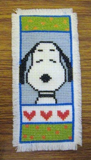 Snoopy bookmark