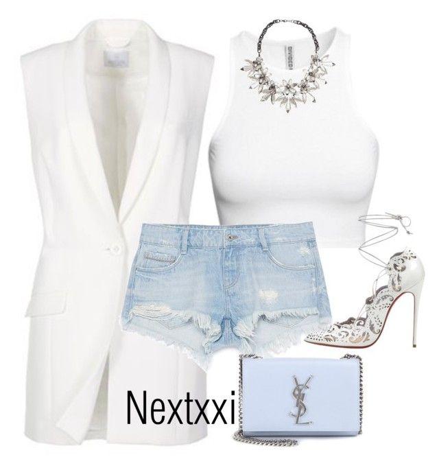Без названия #835 by nextxxi on Polyvore featuring polyvore fashion style Zara Yves Saint Laurent John Lewis H&M Christian Louboutin clothing