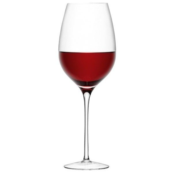 LSA Red Wine Goblet (850ml) ($30) ❤ liked on Polyvore featuring home, kitchen & dining, drinkware, drinks, decor, food, lsa international, glass wine goblets, red wine goblets and wine goblets