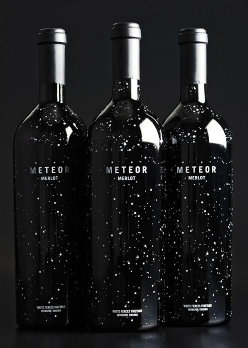 via lovelypackage.com  I would buy this wine just for the bottle.