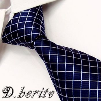 Find More Ties Information about BP58 Navy Blue White Checked 100%Silk Jacquard Classic Woven Man's Tie Necktie,High Quality neckties pink,China necktie style Suppliers, Cheap necktie from Snowman's store on Aliexpress.com
