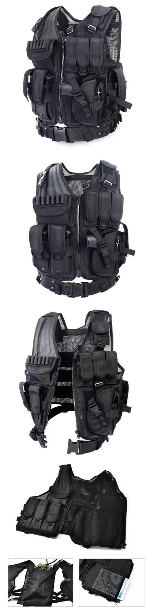 Chest Rigs and Tactical Vests 177891: Tactical Vest Army Military Equipment Supplies Carrier Combat Training Durable -> BUY IT NOW ONLY: $48.99 on eBay!