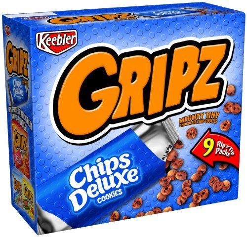 YES! One of my all-time favorite snacks as a kid.  I loved being able to throw them in the air and catch them with my mouth, just like they did in the Gripz commercial I saw on TV as a kid.