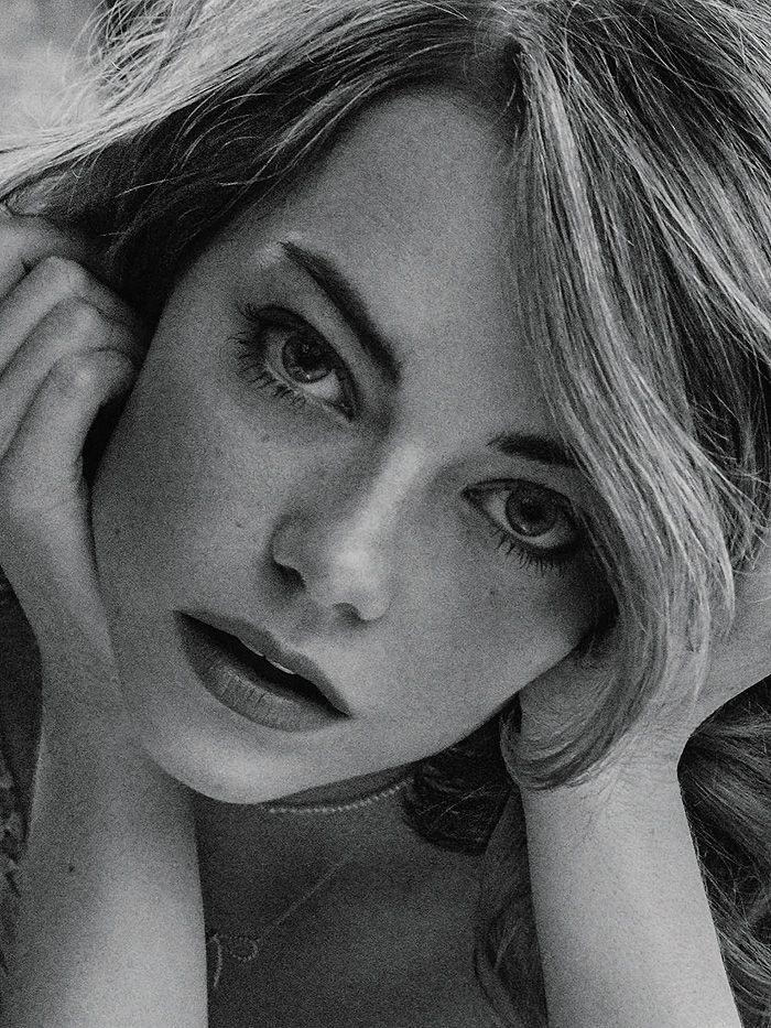 Emma Stone por Craig McDean para Interview Magazine