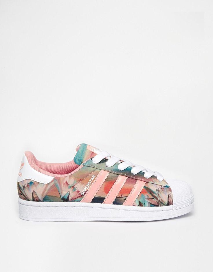 Adidas Superstar Rosa Blumen