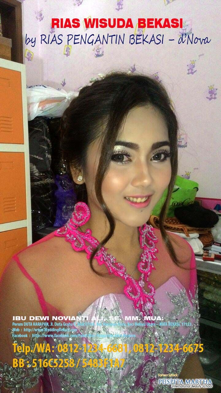 Jasa Make Up Wisuda Bekasi - 081212346681 or 75 - Rias Wisuda Bekasi dNova (1)