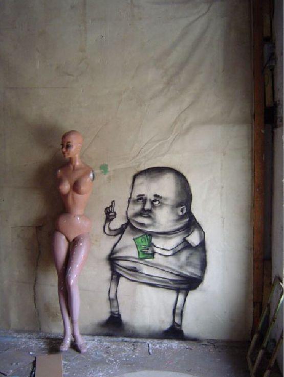 French Artist Dran