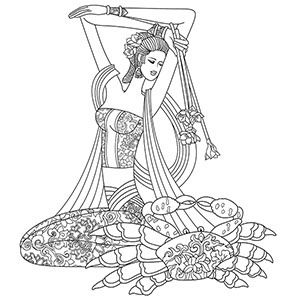Sagittarius Tattoo Drawings for Girls | Free Printable Coloring Pages for Girls