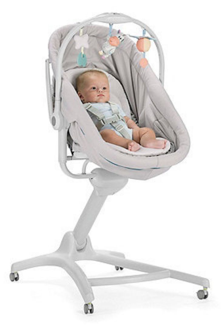 Chicco S Baby Hug 4 In 1 Converts From A Recliner And Crib Into A