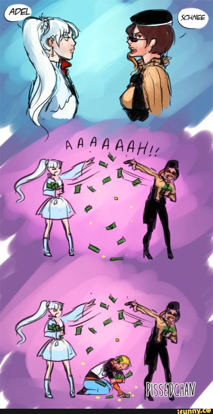 Rwby Comic I Imagine Weiss And Coco Are The Two Richest