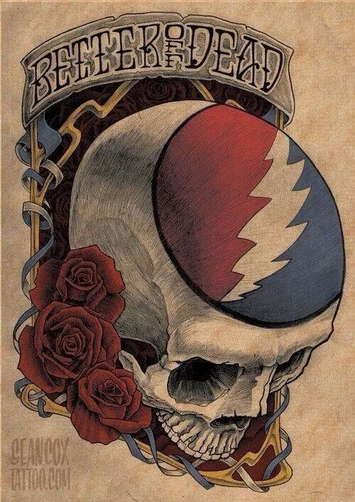 ➳➳➳☮ American Hippie Music Art ~ Grateful Dead