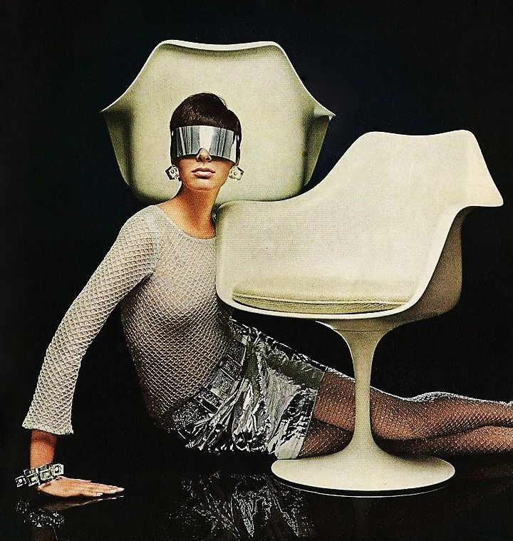 Knoll Eero Saarinen Pedestal Chair - 1967  from Roger Wilkerson, The Suburban Legend!