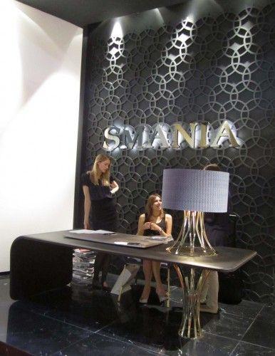 Reception desk design idea, Milan furniture fair 2011