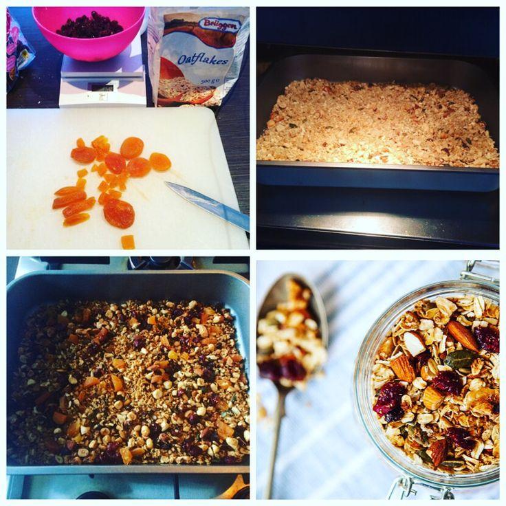 Homemade granola. Holy Granola!