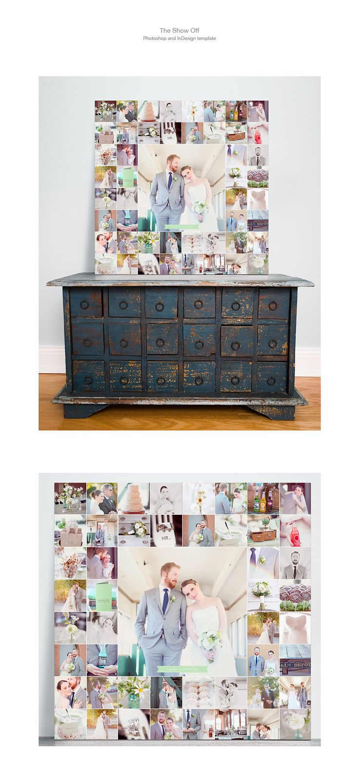 """the """"Show Off"""" photo display templates by design aglow"""
