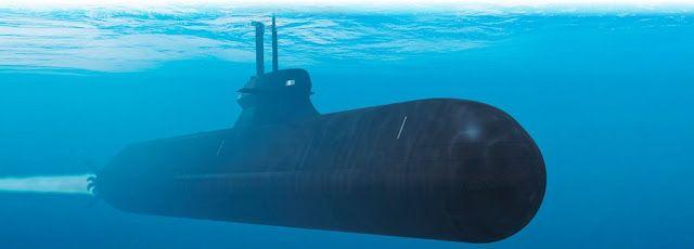 Saab A26 Submarine - Video