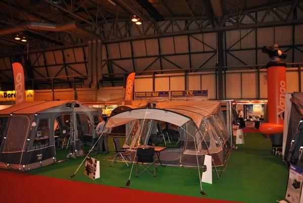 The Vango 2015 Range looking great at the NEC show!