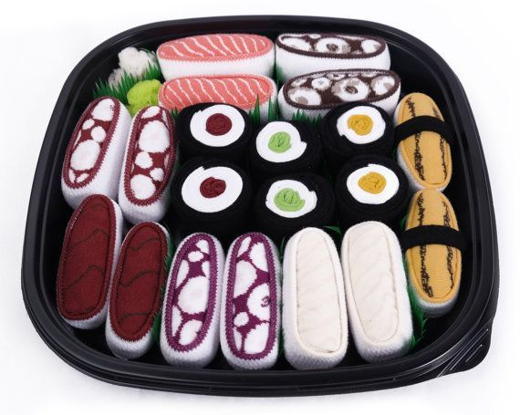 Japanese Gadgets - Sushi Socks Box