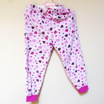 Pink Flannel Pyjama en Flannelette 3 – Sprogshop