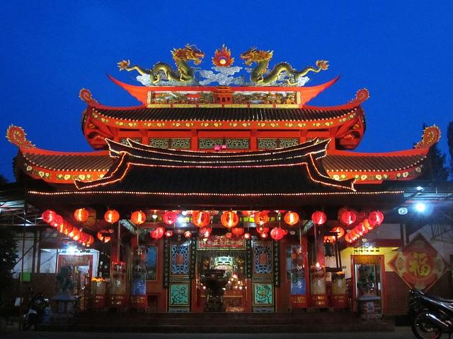 Klenteng Liong Hok Bio, Magelang by ARIAMAN, via Flickr