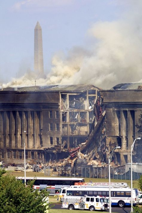 9/11 Pentagon - I know that today is 9/11 and the first thing that comes to your mind is, The World Trade Center.  But there were also two other attacks that day.  I I would like everyone to remember them too.