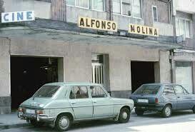Cine Alfonso Molina, A Coruña. Galicia. Spain.