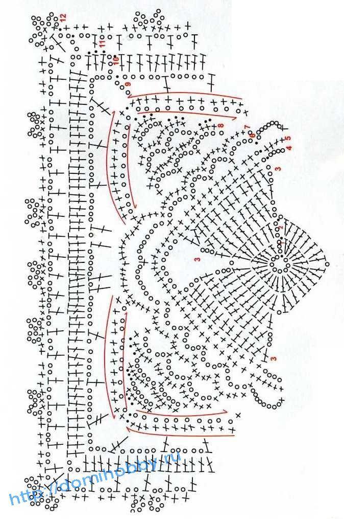 схема салфетки 14