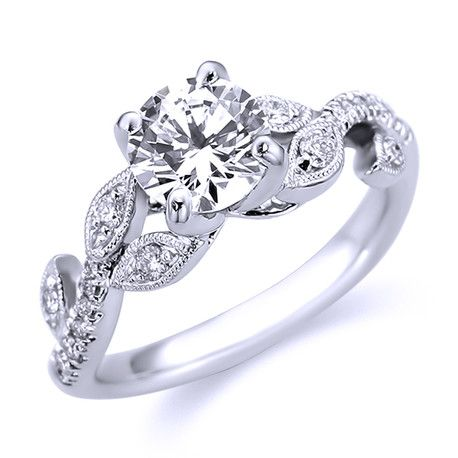 Parade Vintage Inspired Diamond Engagement Ring R3157/RD1