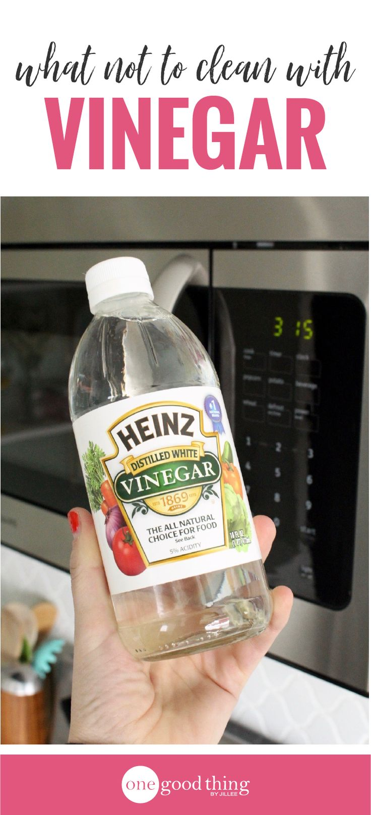 Vinegar works great as a natural and affordable cleaner, but you shouldn't use it on everything! Here's what you need to know to clean with vinegar.